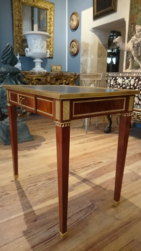 Furniture  - Writing table from Neoclassical period, end of 18th century