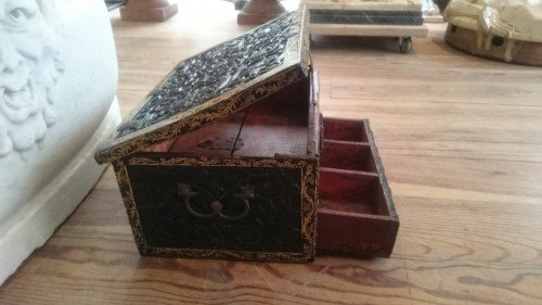 - Lacquered writing case from Pegu, Indo-Burmese 16th century