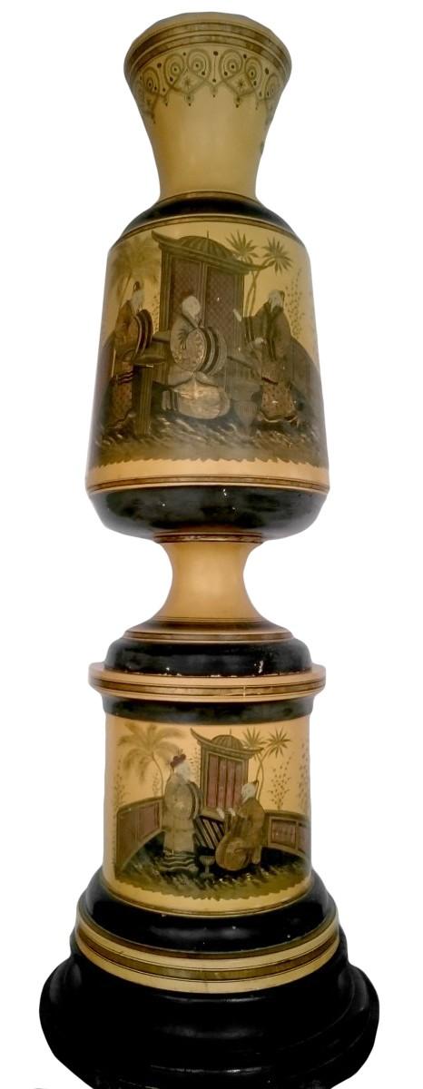 Pair Of Large Italian Vases Circa 1840 Ref69204