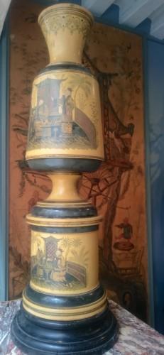 Pair of large italian vases circa 1840 -