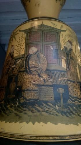 19th century - Pair of large italian vases circa 1840