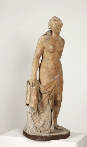 Vénus in terracotta, Italy 17th century - Sculpture Style