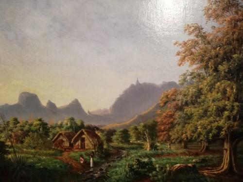 Oil on canvas - Numa Desjardins - Mauritius Island - Paintings & Drawings Style