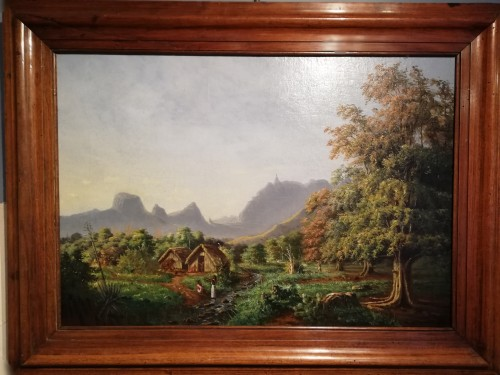 Paintings & Drawings  - Oil on canvas - Numa Desjardins - Mauritius Island