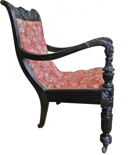 Anglo-Indian armchair, 19th century
