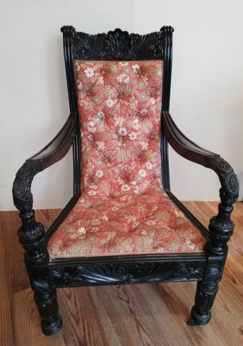 Anglo-Indian armchair, 19th century - Seating Style