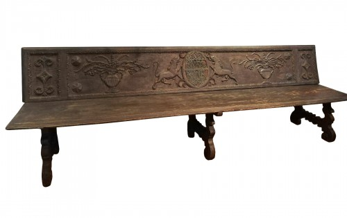 Large bench, Spain 17th century