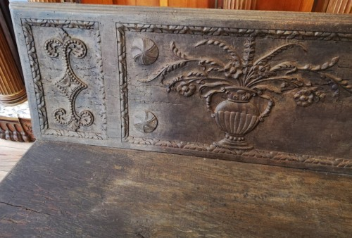 17th century - Large bench, Spain 17th century