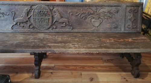 Large bench, Spain 17th century -
