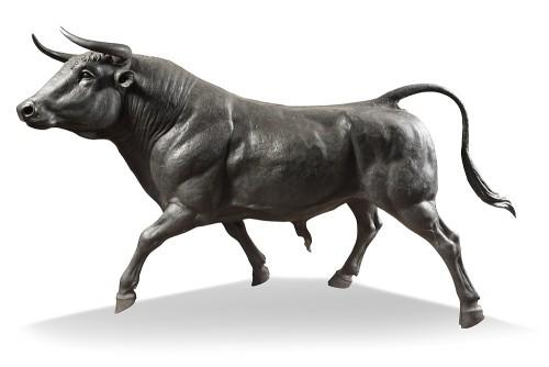 Decorative Objects  - bull life-size