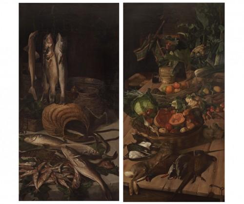 Grande paire de natures mortes - 1892