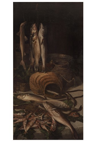 Grande paire de natures mortes - 1892 - Paintings & Drawings Style