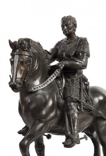- Pair of bronze equestrian statues - circa 1870