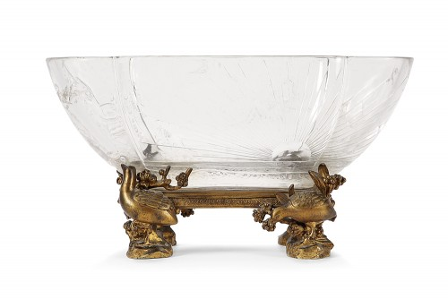 Baccarat crystal cup 19th century