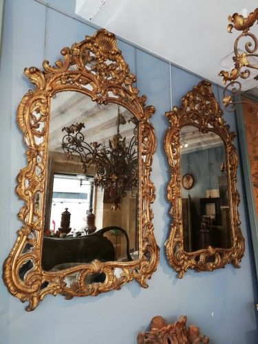Pair of mirrors, France 1880