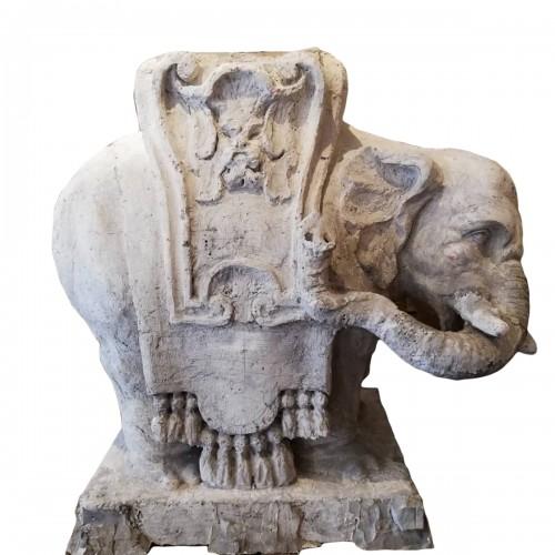 Éléphant,  Artist proof, 19e siècle