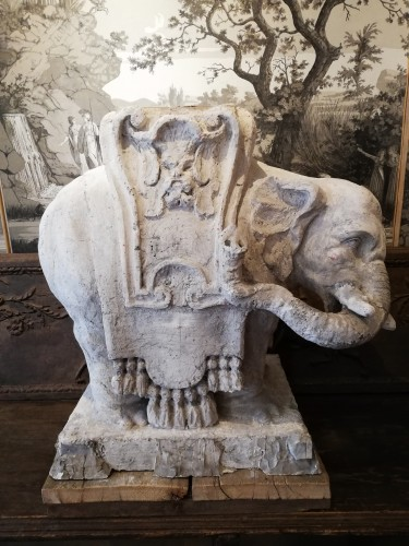 19th century - Éléphant,  Artist proof, 19e siècle
