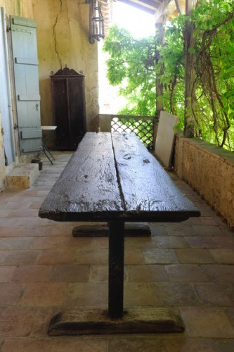 Monastery table 17th century - Furniture Style