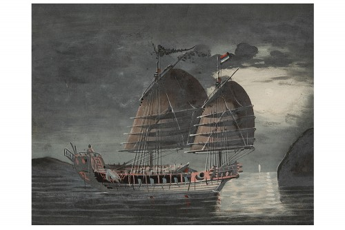 Pair of Navy 19th century