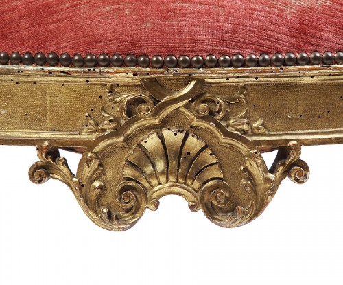 Seating  - Pair of 18th century Venitian armchairs