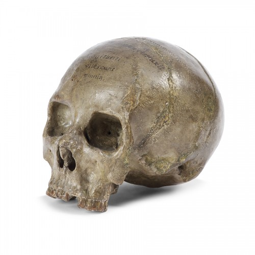 17th century - Terracotta skull 17th century