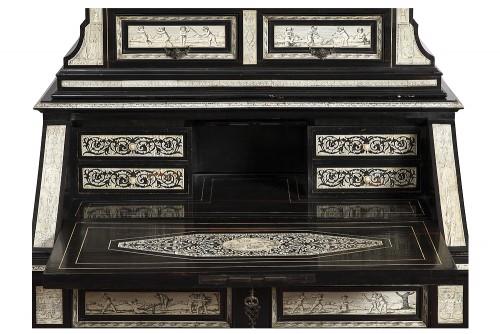 Secretary cabinet by Ferdinando Pogliani - Milan 19th century -