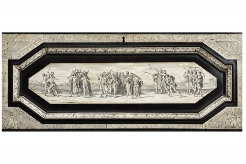 Secretary cabinet by Ferdinando Pogliani - Milan 19th century - Napoléon III