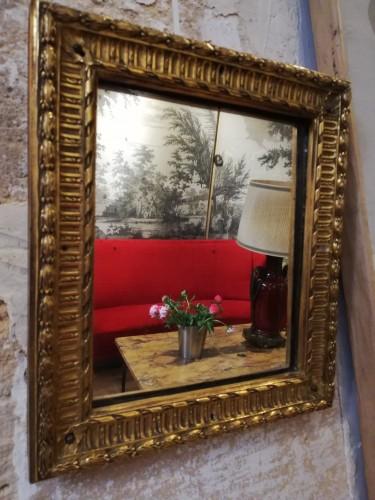 Louis XVI bronze frame - Mirrors, Trumeau Style Louis XVI