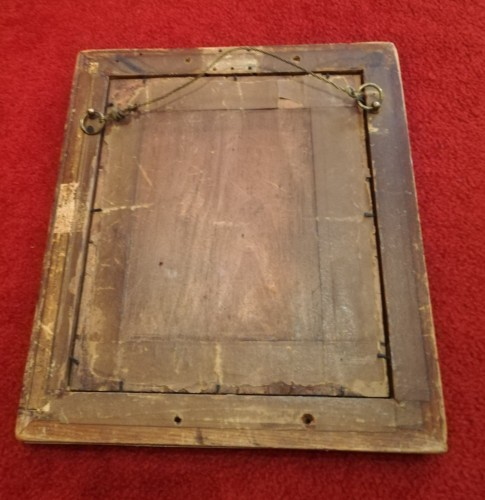 Louis XVI bronze frame -