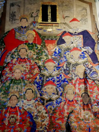 Chinese hanging scroll 19th century - Asian Art & Antiques Style