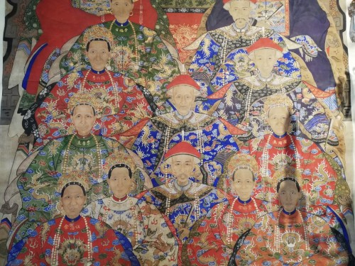 Asian Art & Antiques  - Chinese hanging scroll 19th century
