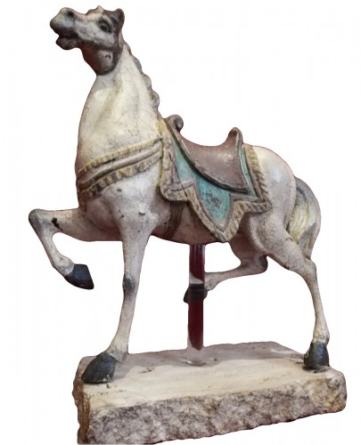 Horse in wood - Italy 18th century