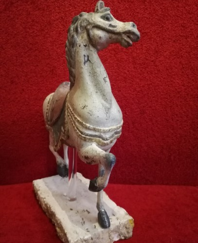 Horse in wood - Italy 18th century -