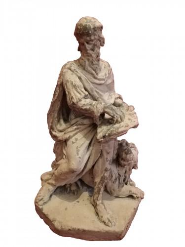 Sculpture of St. Jerome 17th century
