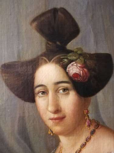 Paintings & Drawings  - Portrait of Woman, 1831