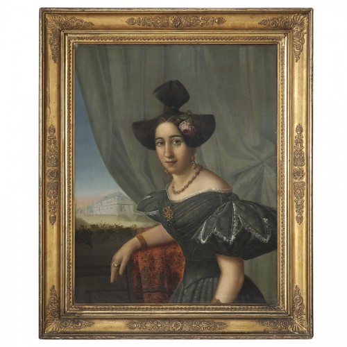 Paintings & Drawings  - Portrait of Woman, 1831