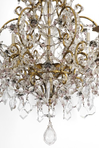 Italian chandelier 19th century -