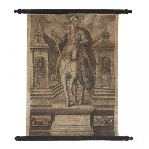 Engravings & Prints  - Series of 9 canvas prints from the House of Landry - 17th century