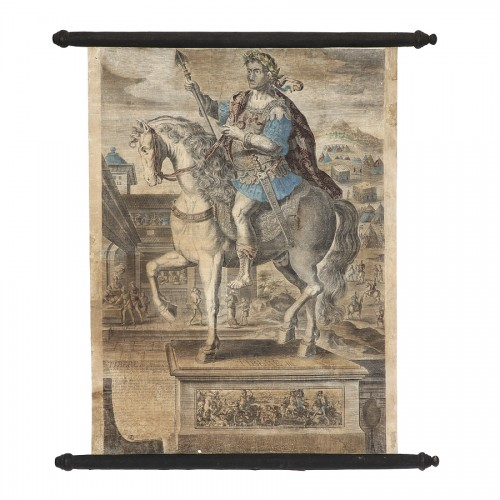 - Series of 9 canvas prints from the House of Landry - 17th century