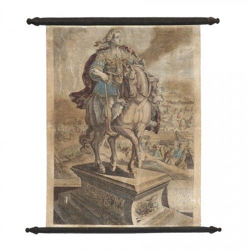Antiquités - Series of 9 canvas prints from the House of Landry - 17th century