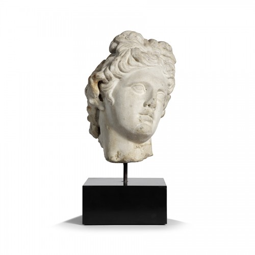 Ceres marble head, Rome 17th century - Sculpture Style