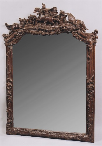 Mirror Flanders early 18th century - Mirrors, Trumeau Style
