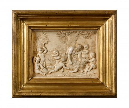 A stucco bas-relief 18th century