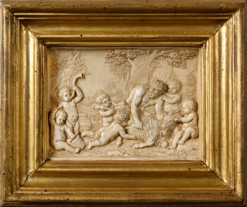 A stucco bas-relief 18th century - Sculpture Style