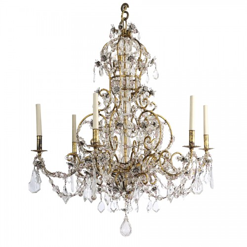 Italian chandelier 19th century - Lighting Style