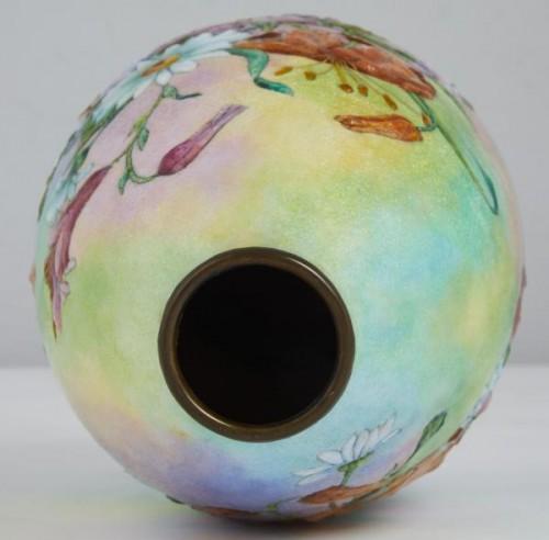 Decorative Objects  - Vase émaillé de Camille Fauré (1874-1956)