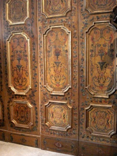 Serie of polychrome italians doors 18th century - Architectural & Garden Style