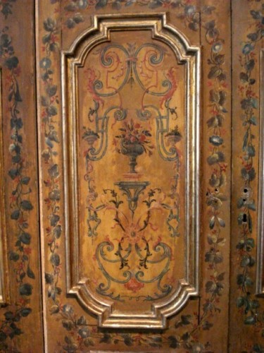Architectural & Garden  - Serie of polychrome italians doors 18th century