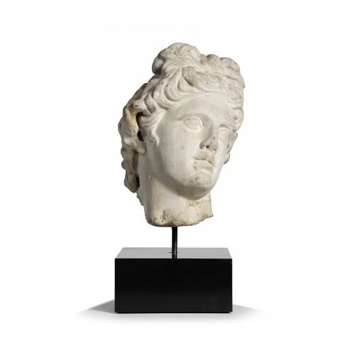 Marble head - Italy 17th century - Sculpture Style