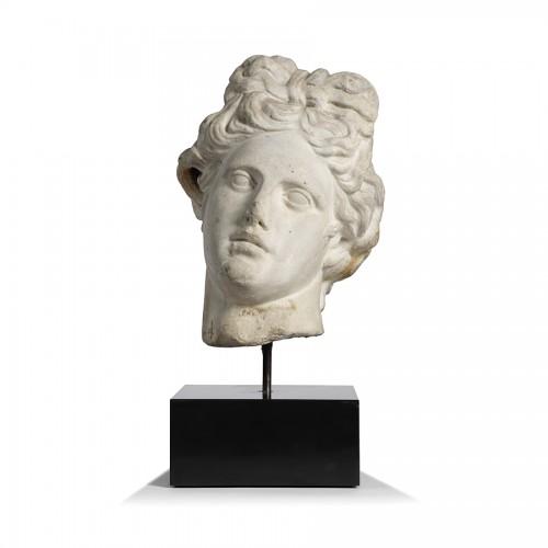 Marble head - Italy 17th century -